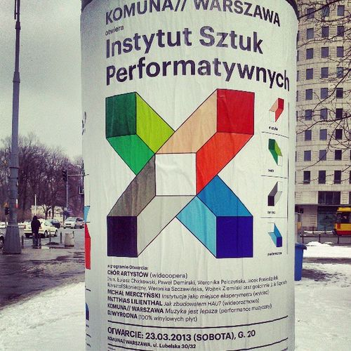 Instytut Sztuk Warszawa   warsaw now winter art performance