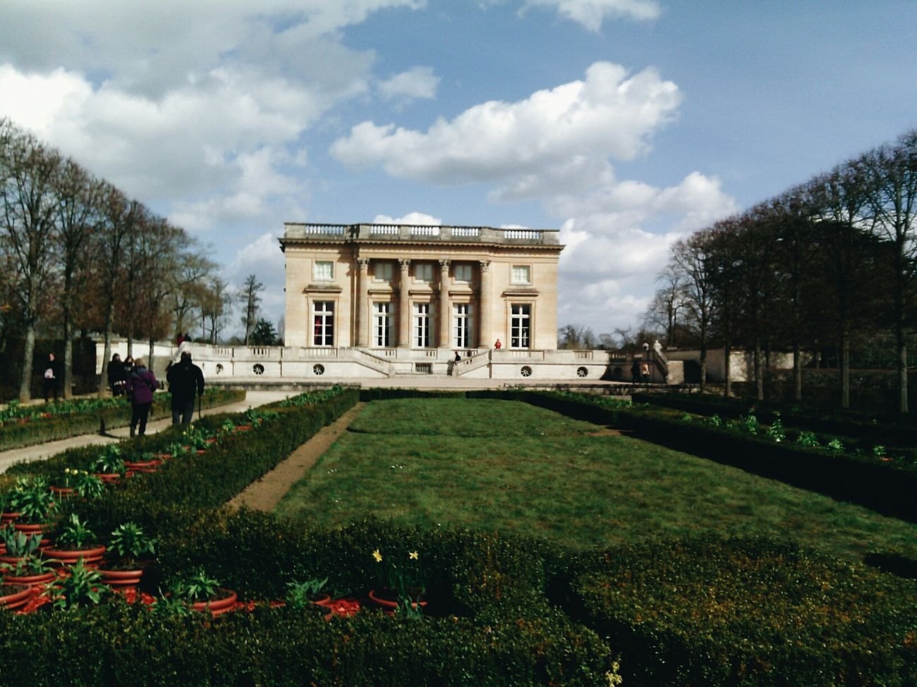 Petit Trianon Versailles Green France