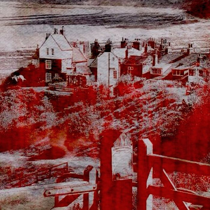 Red Place Hello World Digital Art Check This Out Surreal Art Robins Hood Bay Whitby England Yorkshire