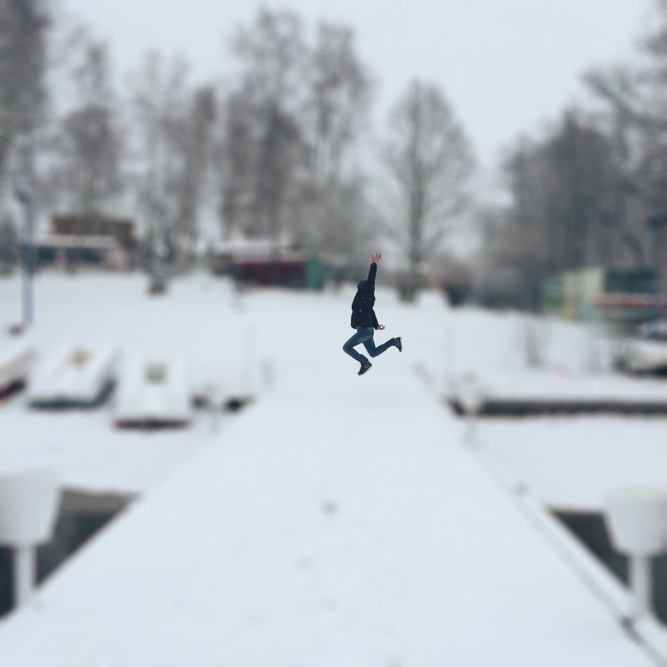 Beautiful stock photos of jump, Arms Raised, Cold Temperature, Covering, Day
