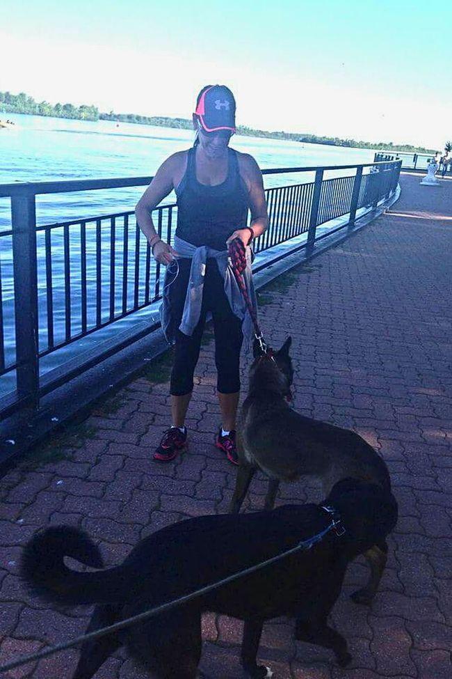 A Walk In The Park Dog❤ Amherstburg Summer ☀
