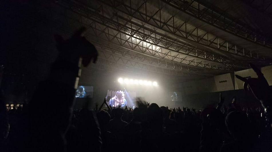 オズフェスのオオトリのオジーオズボーン♪初めて観たけどサイコーだった♬ベビメタ観る前に機種変したばかりのスマホ落として画面割る(2/3不能)事態が起きたけどなんとか撮れてよかった! Ozzy Osbourne Ozzfest Music Festival Hello World Enjoying Music Enjoying Life Live Music Yeah!