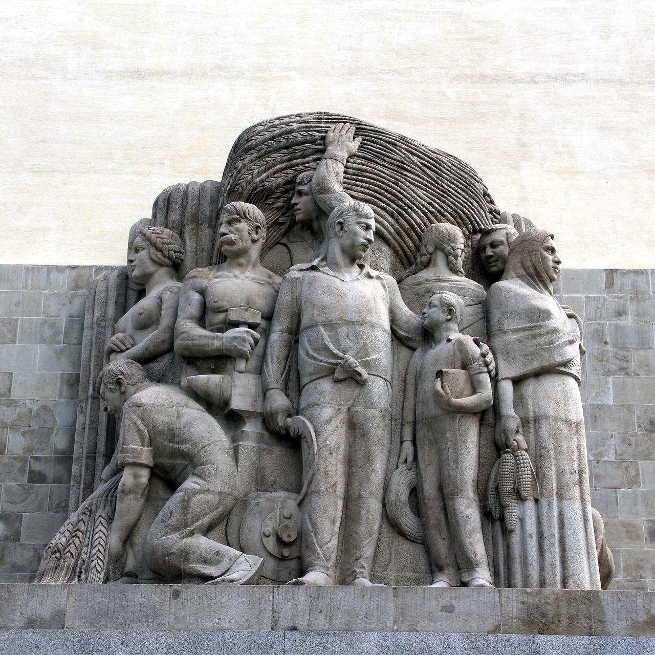 Manumento a Alvaro Obregón, en San Angel, Parque La Bombilla Art Day Monument Outdoors San Angel Sculpture Statue Stone Stone Carving Tourism Tourist Destinations Travel Destinations The Architect - 2016 EyeEm Awards