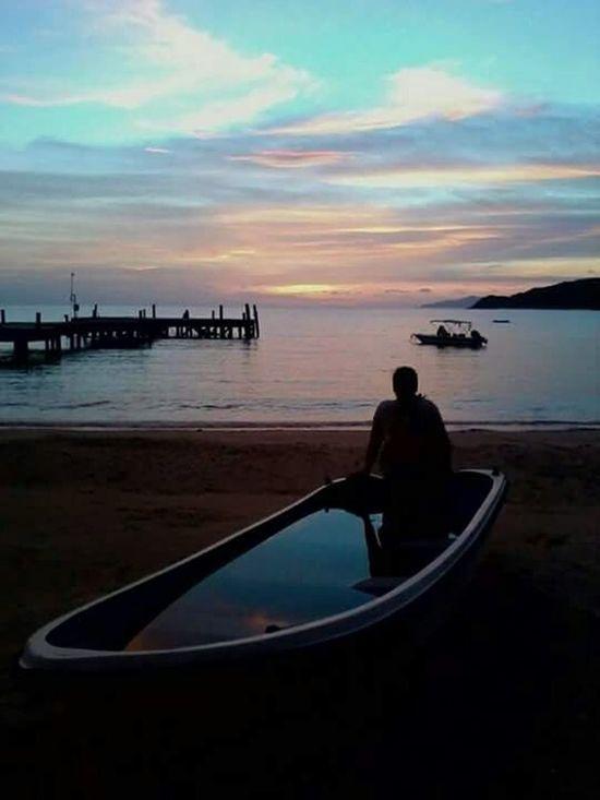 Beautiful ♥ Sunset Islandlife Slowlife Relaxing Myhome