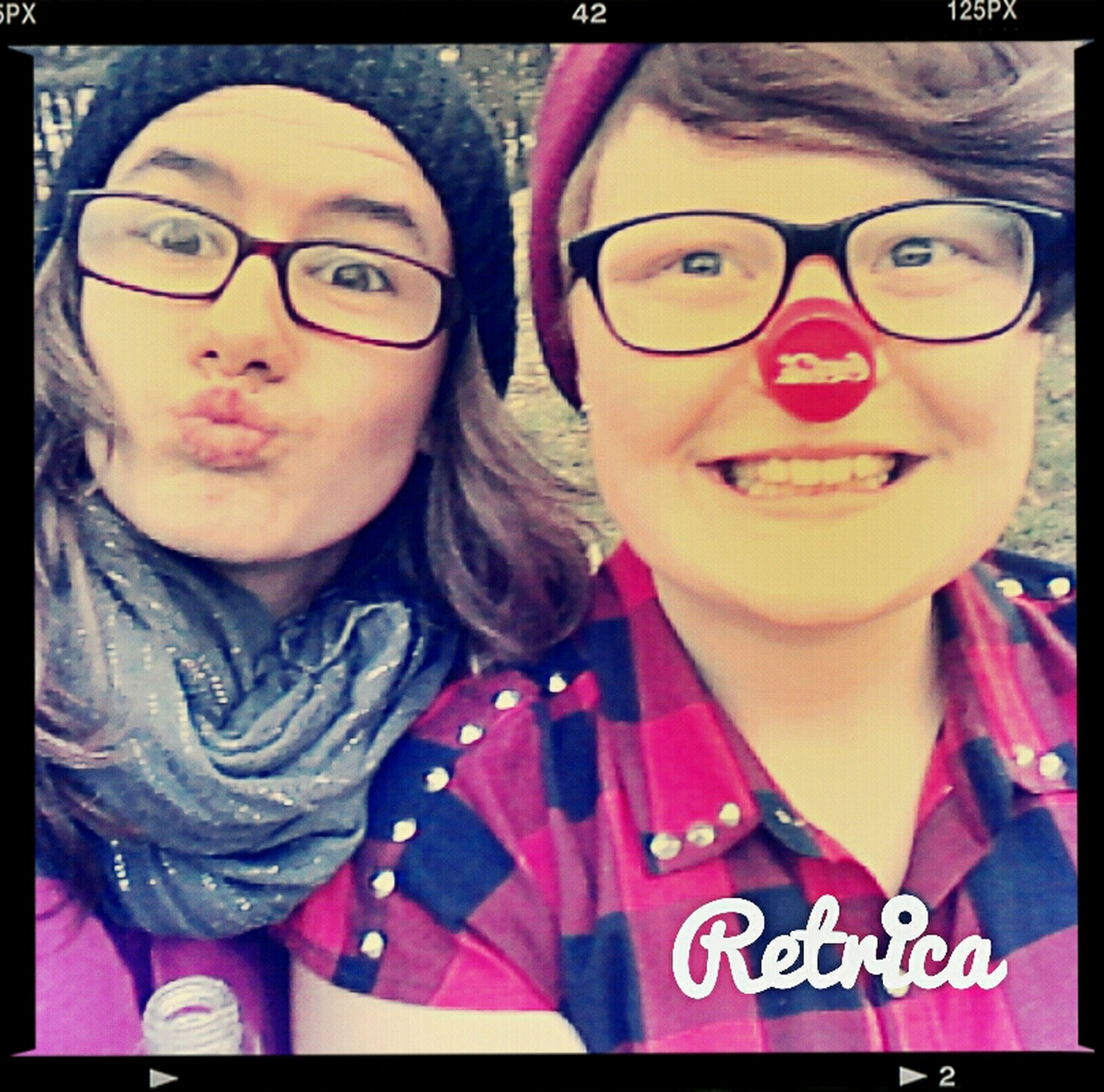 Looks Like Rudolf ♥