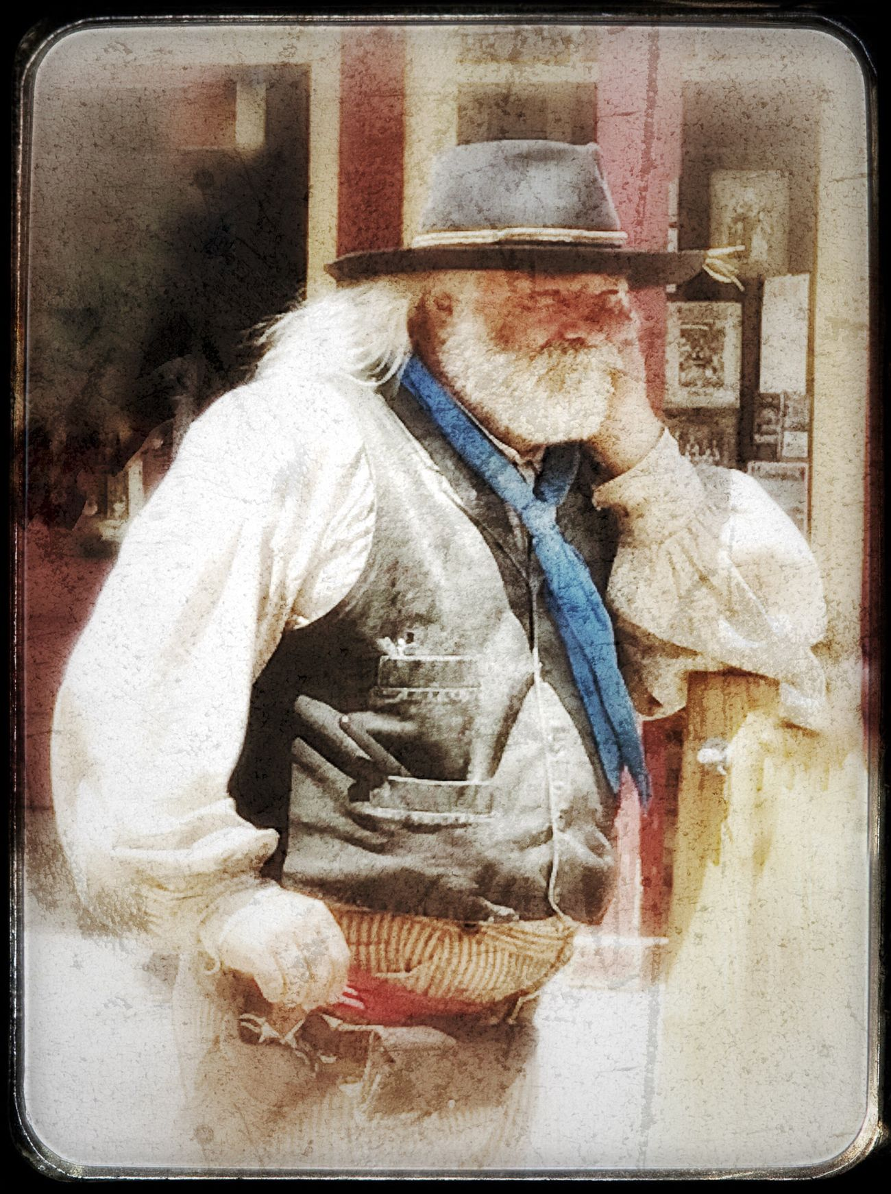 Gunslinger at Rest. Gunslinger  Tombstone AZ Cowboy Cowboys