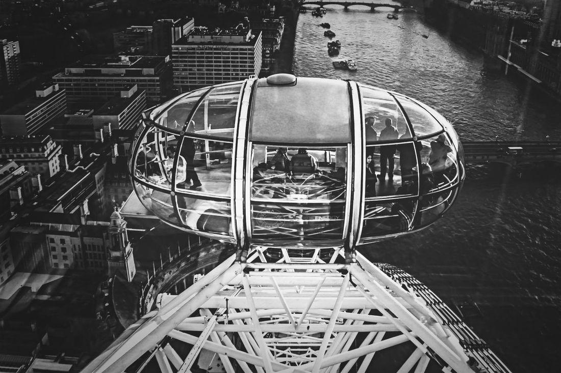 London eye / London London Street Photography Street B+W London Eye