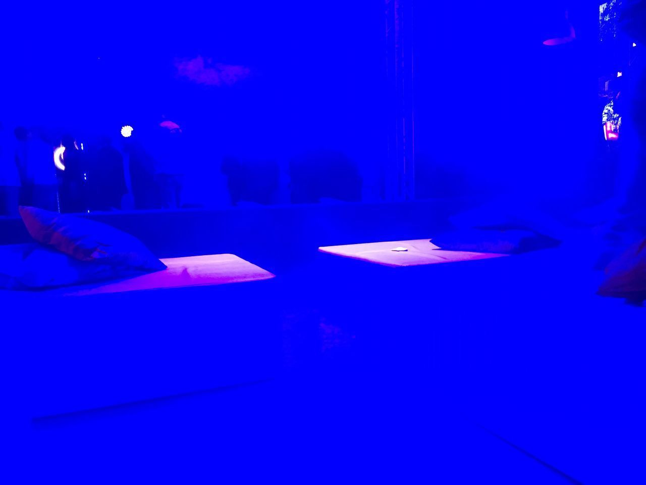 Blue Table Illuminated Indoors  Real People Night One Person Human Hand Human Body Part Architecture People Atp Tour