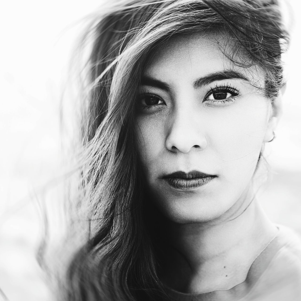 A Solid Portrait Portrait Retouching Nikon D7000 Nikonphotography Bestoftheday Beauty Photooftheday Blackandwhite 50mm F1.8 Mexico Photoshoot Highendfashion Fashion Photography First Eyeem Photo