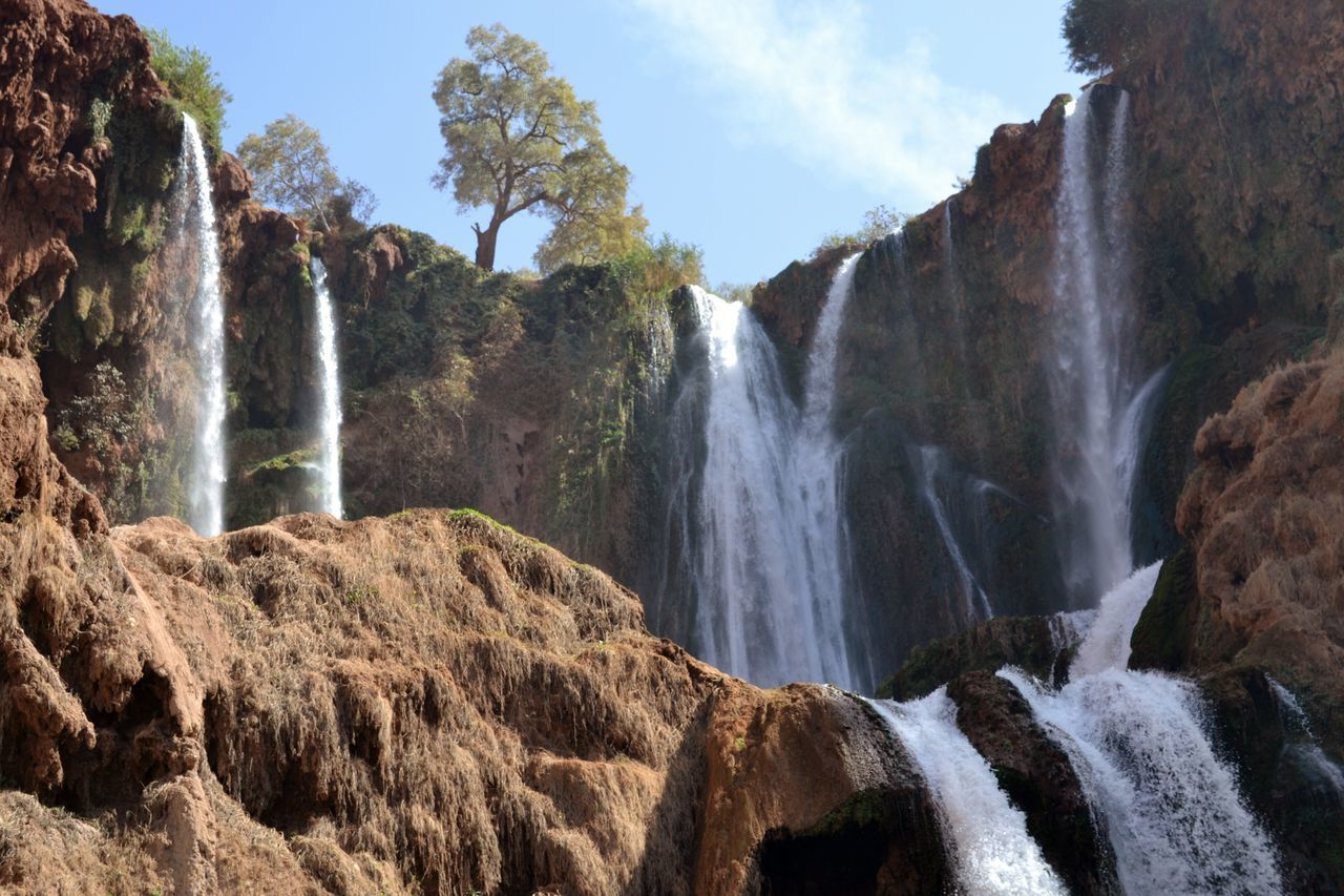 Beauty In Nature Flowing Water Maroc Memories Mountains Nature Ouzoud Falls Travel Traveling Tree Water Waterfall Waterfalls Wildlife