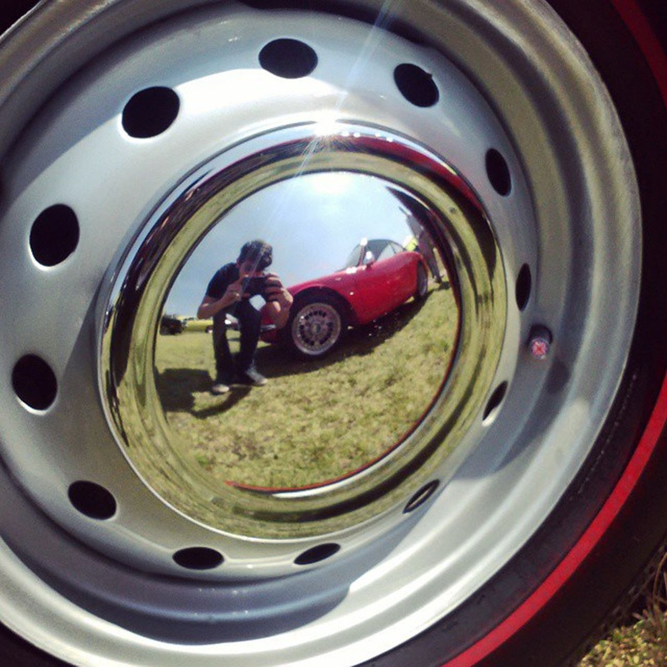 rimception - Motor Fest 2015 Throwback Motorfest Mexico Mexico City Cdmx Photoart Reflejo Outdoors Rim Photo Thats Me  Goodvibes✌️ Coche Vintage Cars Classic Car Redcar Renault Alpine