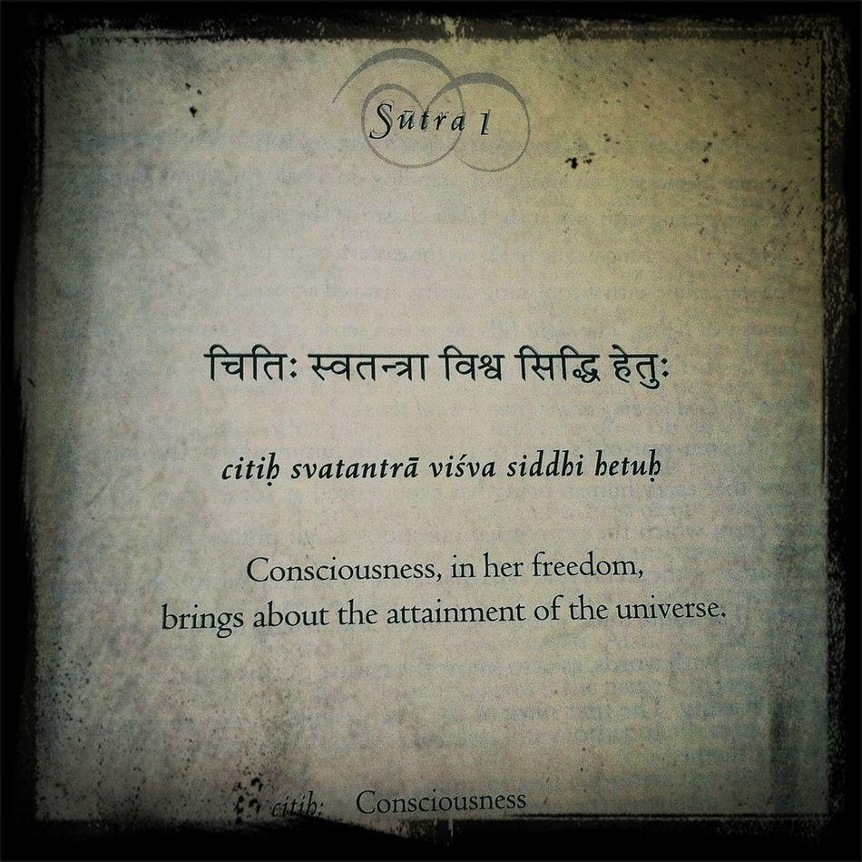 Pratyabhijña-hrdayam. The Heart of Recognition. Yoga Sutras Tantra Shaivismo