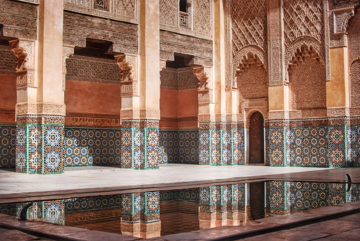 Medersa Ben Youssef, Marrakech, Morocco Time To Reflect Traveling Architecture Tadaa Community