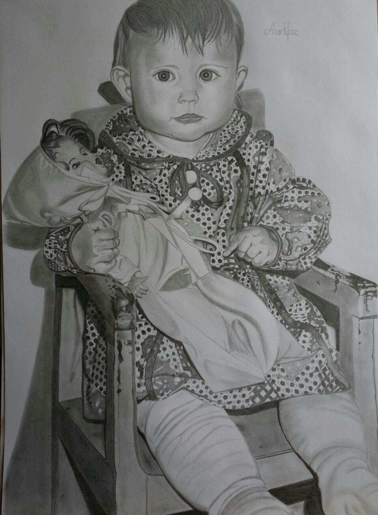 Baby Art, Drawing, Creativity GraphitePencil