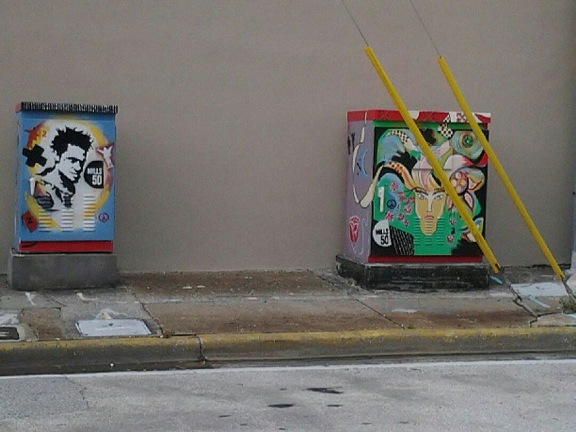 The Street Photographer - 2015 EyeEm Awards Streetart Graffiti Curbside Utility Boxes