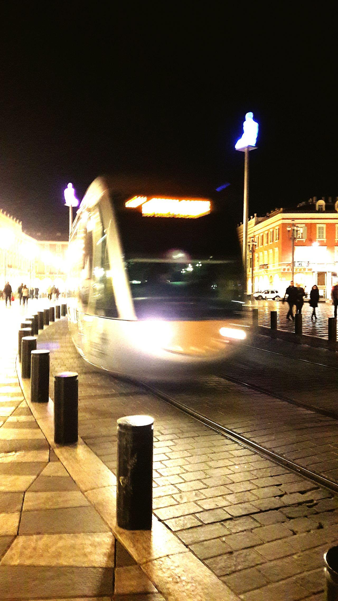Night Illuminated Bridge - Man Made Structure Outdoors No People Tramway Macenas Place Macenas