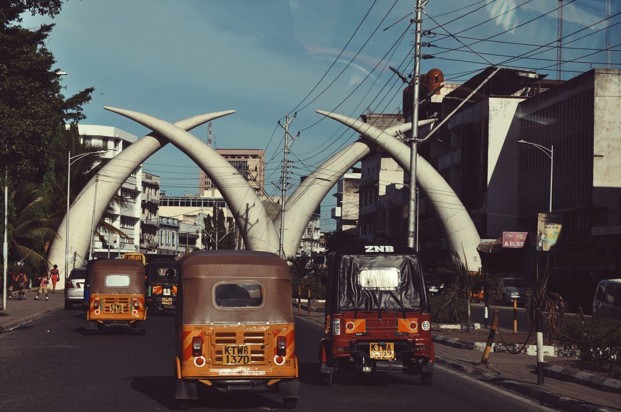Mombasa, Kenya. City Outdoors Cityscape Mombasa Kenya Adventure EyeEm Best Edits Africa Travel VSCO EyeEm Best Shots Travel Destinations Streetphotography Street Life Architecture