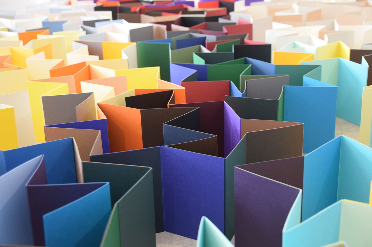 Paper City - a Hull 2017 installation - Hull City of Culture 2017 Blue Close-up Day Hull Hull 2017 Hull City Of Culture 2017 Indoors  Multi Colored No People Paper