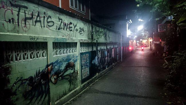 Graffiti Street Art Streetart Tailand Tailandia. Pintandolascalles Dejandohuellas