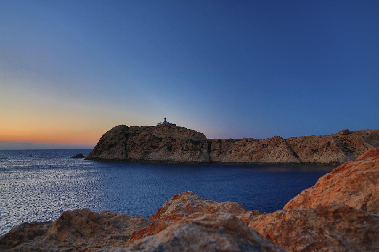 Corse Corsica Evening Sun Ile De La Pietra Ile Rousse Lighthouse Rocks Sunset EyeEmNewHere