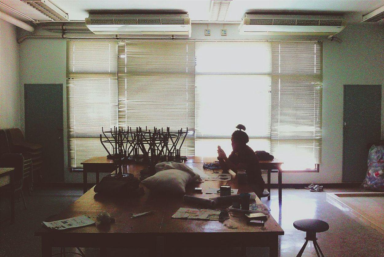 Working Day ArtWork Workshop Sceen
