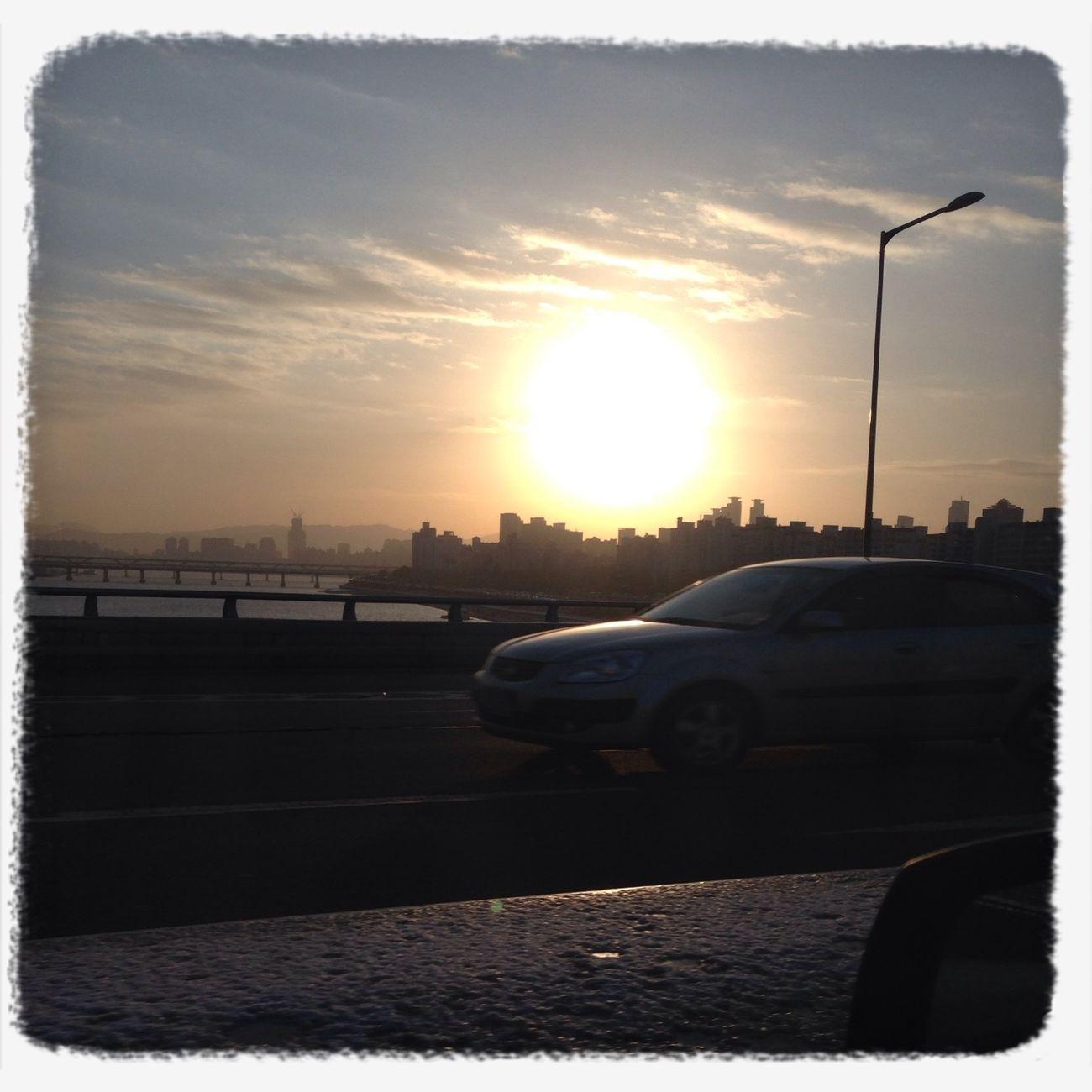 Sunrise at Seoul