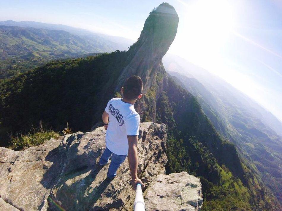 Lugar perfeito ✌🏻😏❤️ Mountain Nature Mountain Range Adventure Beauty In Nature Tranquility Pedradobau Brazil