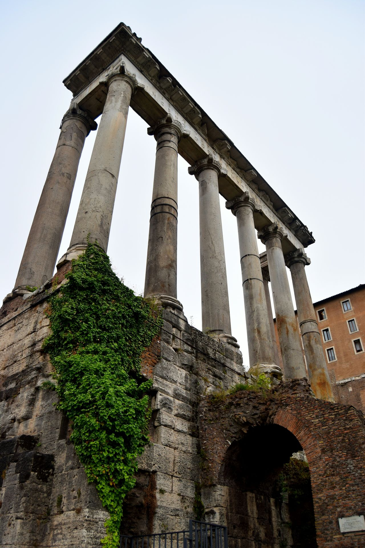 Roma Rome Italy🇮🇹 Temple Architecture Forum White Bricks Center Photooftheday Streetphotography Picoftheday Exploring Walk Stone Old Photographer The Week Of Eyeem Ancient Architecture Photography Clouds Famous Place Marmol Ancient Culture Ancient Ruins Temple Ruins