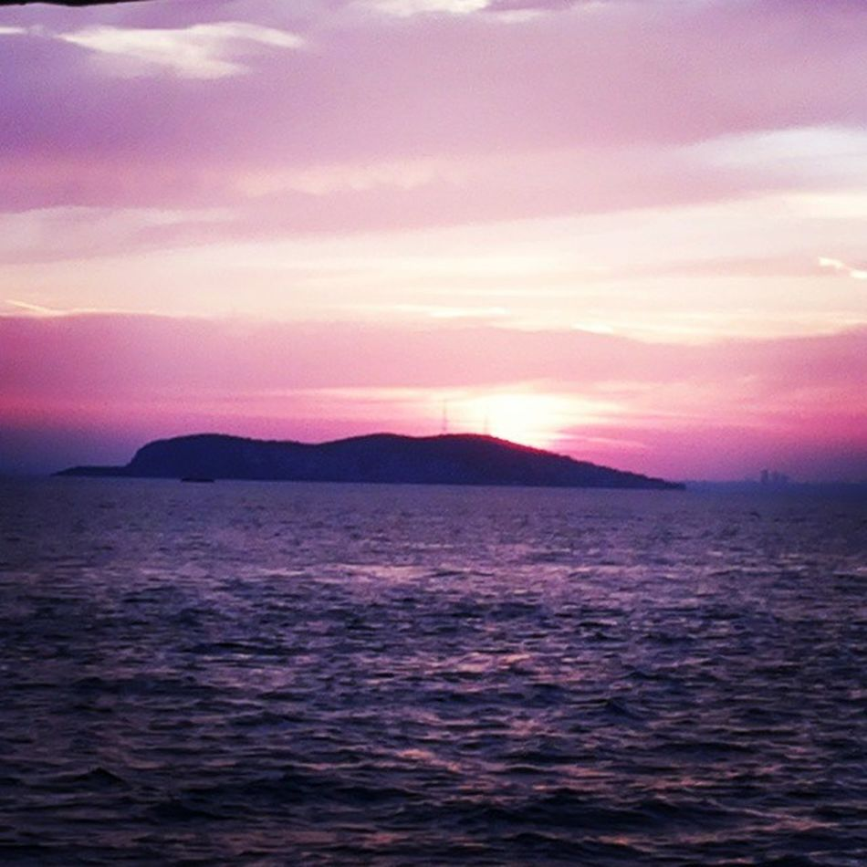Sun setting in the Adalar Islands... Istanbullife Happy_Days_Out
