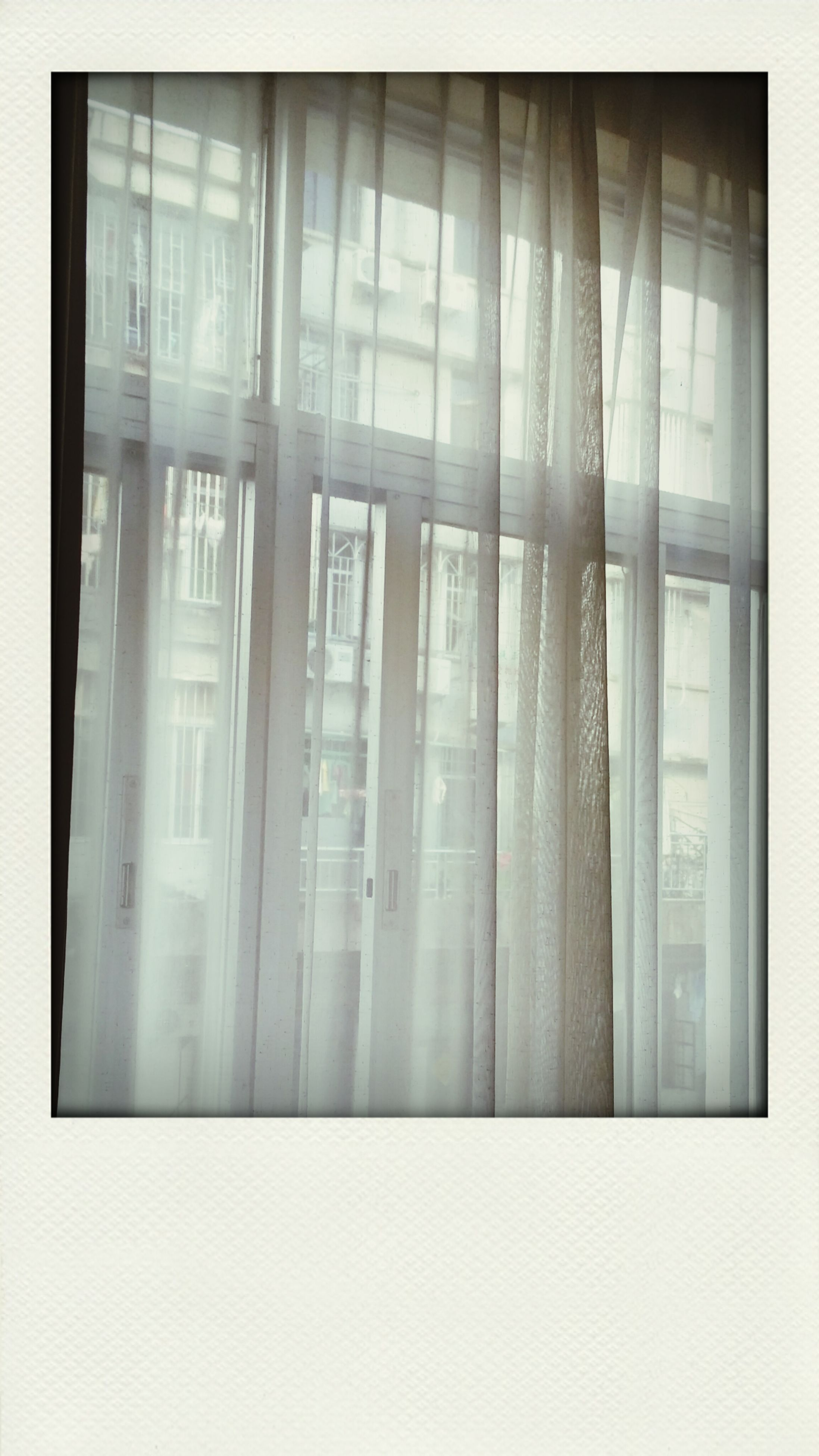 transfer print, window, indoors, auto post production filter, architecture, built structure, curtain, glass - material, transparent, closed, full frame, building exterior, backgrounds, no people, reflection, home interior, wall, door, day, wall - building feature