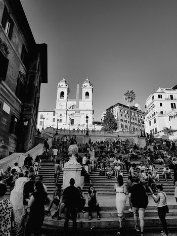 Large Group Of People Religion Architecture Travel Destinations Spirituality People Outdoors Day City Vacations Rome City