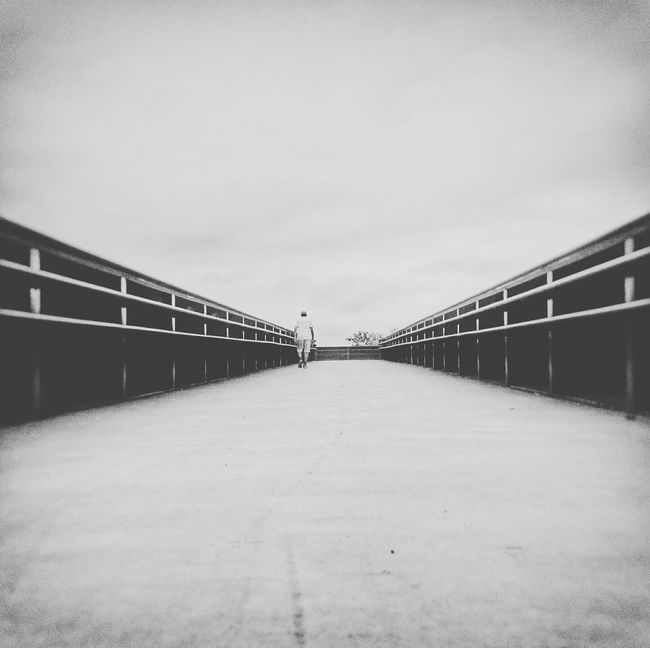 Vanishing Point - My Dad the Walker. Check This Out Capture The Moment Blackandwhite AMPt_community Bnw_collection Tadaa Community Vscocam Outdoors EyeEm Best Shots - The Streets Streamzoofamily Architecture_collection EyeEm Best Shots - Black + White Bnw_captures