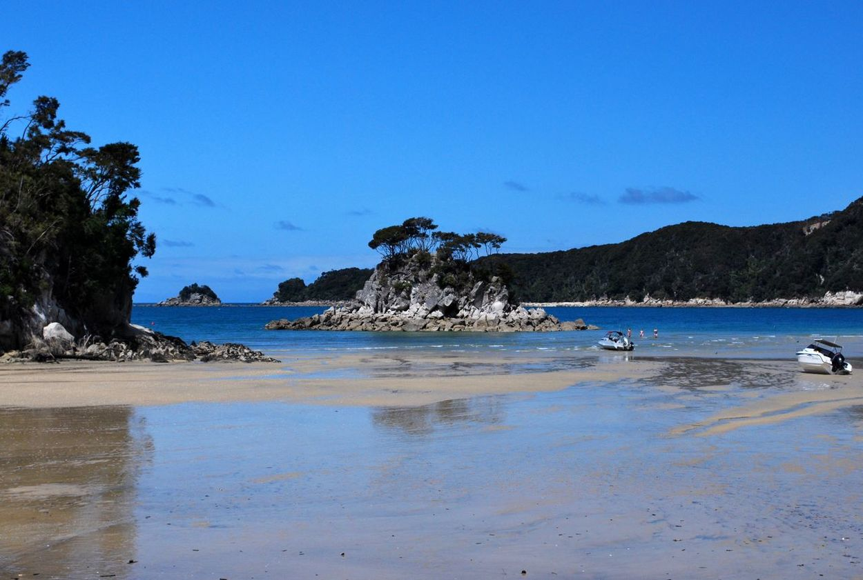 An Afternoon in Paradise Abel Tasman National Park Beach Coast Coastline Horizon Over Water New Zealand Ocean Outdoors Rock Sand Scenics Sea Seascape Summer Tranquil Scene Tropical Climate Vacation Water