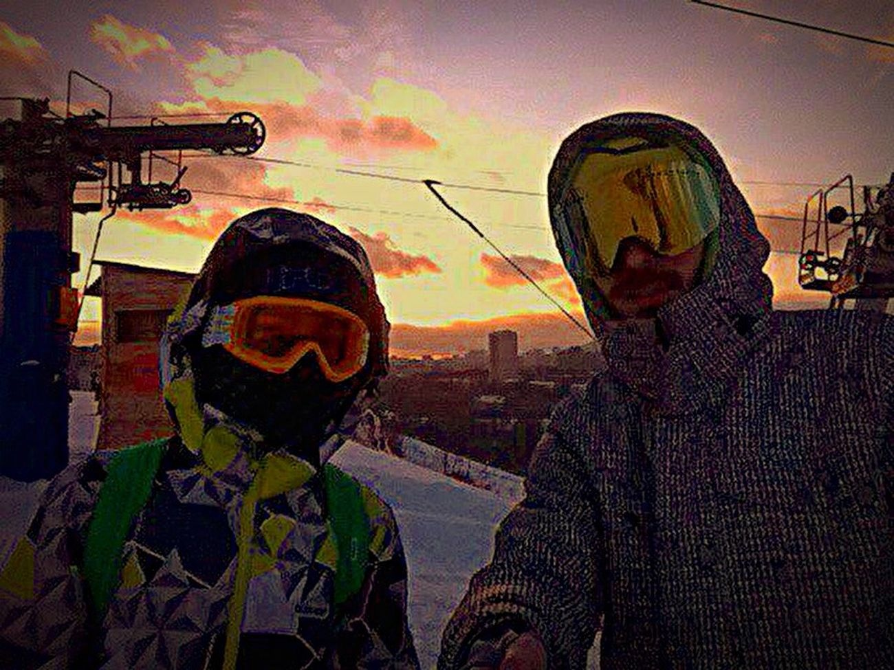 Sunset Snowboarding Moscow Sky сноуборд