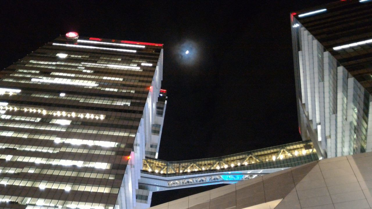 溫馨之夜 Moon Moonlight Moon Light Moon Shots Architecture Built Structure Building Buildingstyles Architecture Arch Architecture_collection Night Night Lights Night Photography Night Light Building And Sky Night Shot Low Angle View Nightview