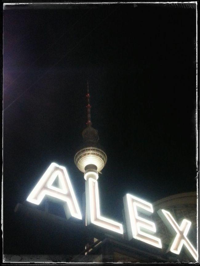 Fernsehturm Alexanderplatz Tvtower #berlin #alexanderplatz Walking Around Night Citylights