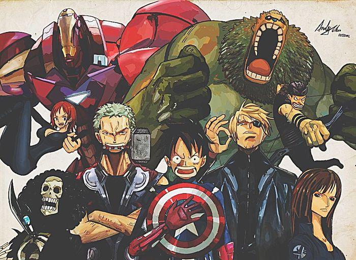 Extraordinary  Badass Onepiecefan Avengers