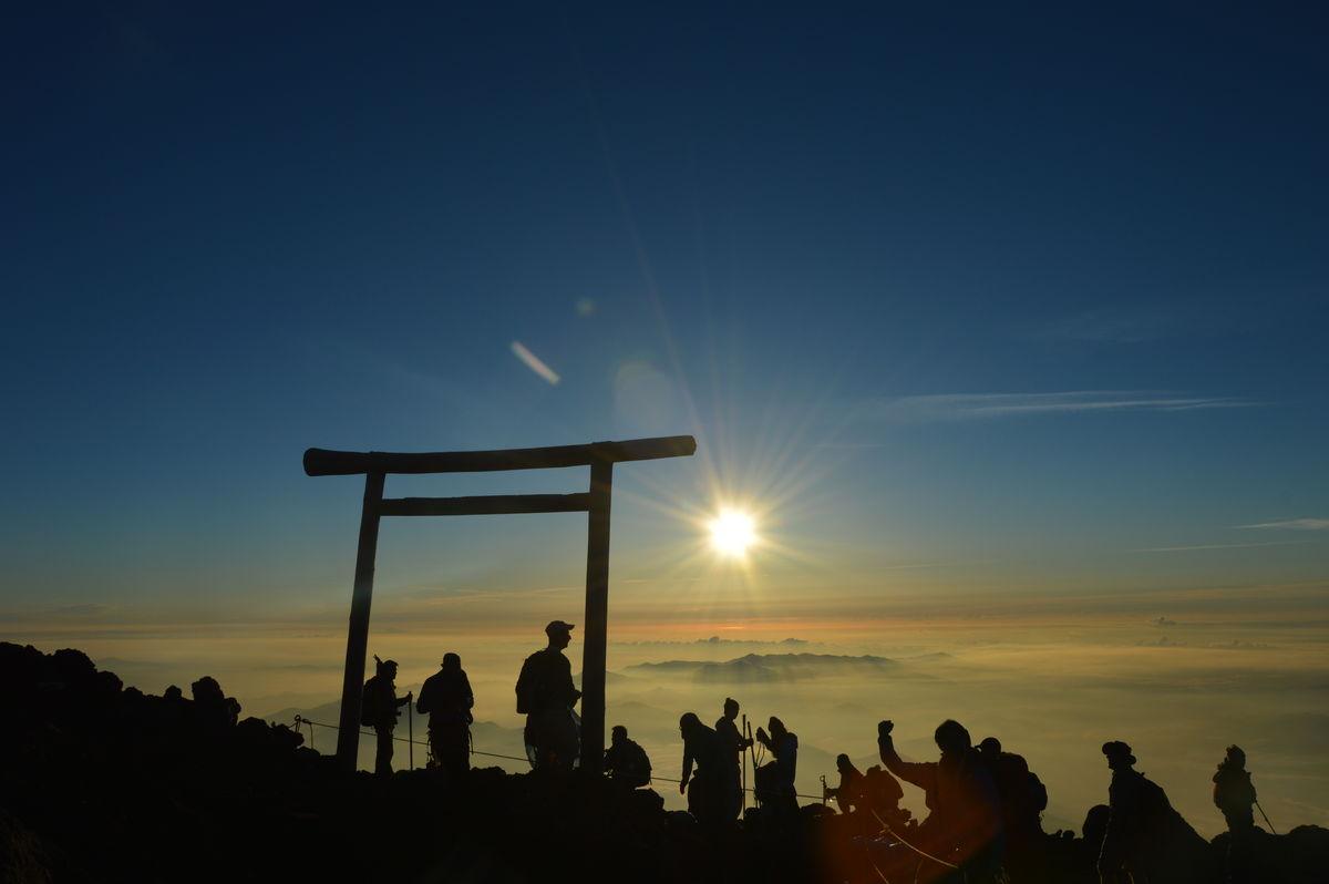 Beauty In Nature Bright Idyllic Mont Fuji Nature Outdoors Sky Sun Sunlight Sunset Tranquility