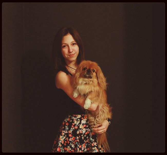 I And My Dog :3 First Eyeem Photo