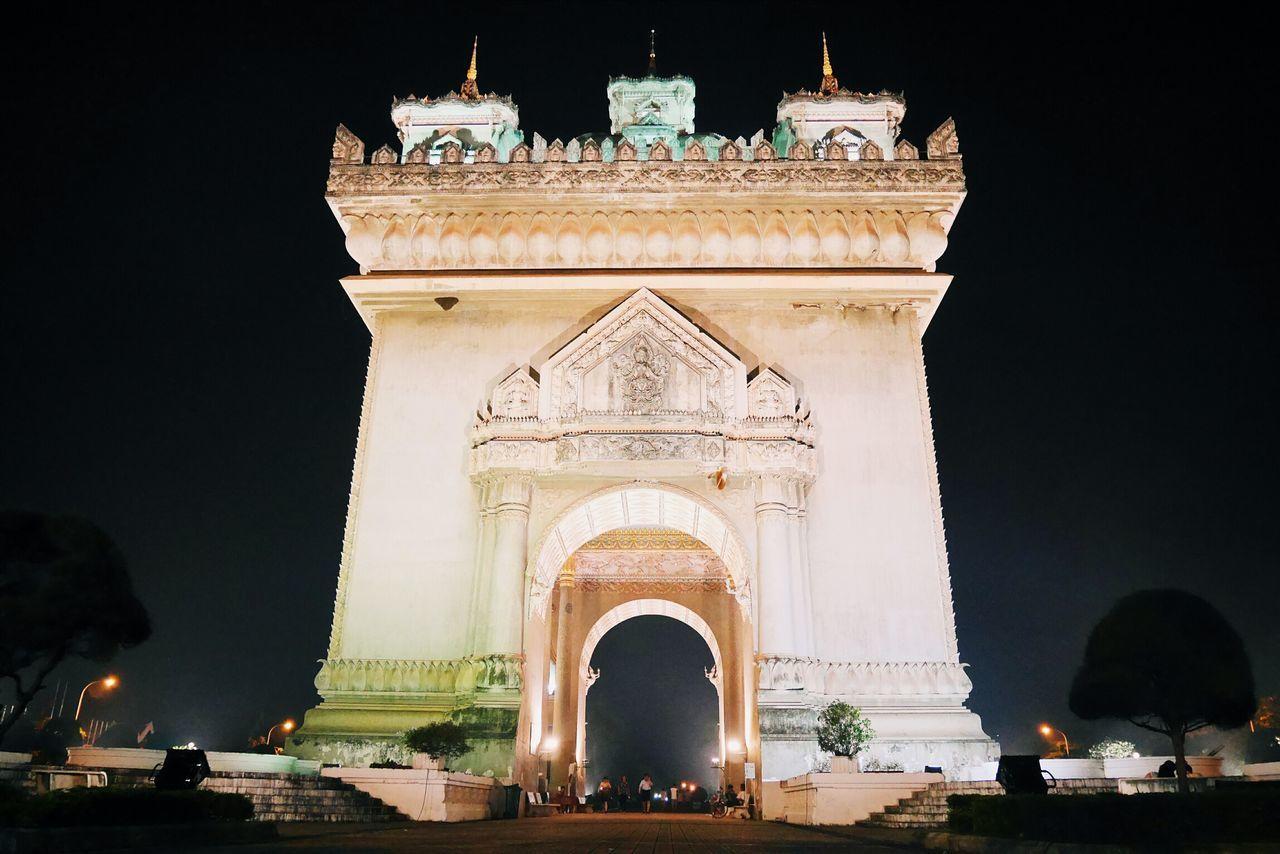 Laos, Lao Trip Laos Built Structure Patuxay Monument Patuxay