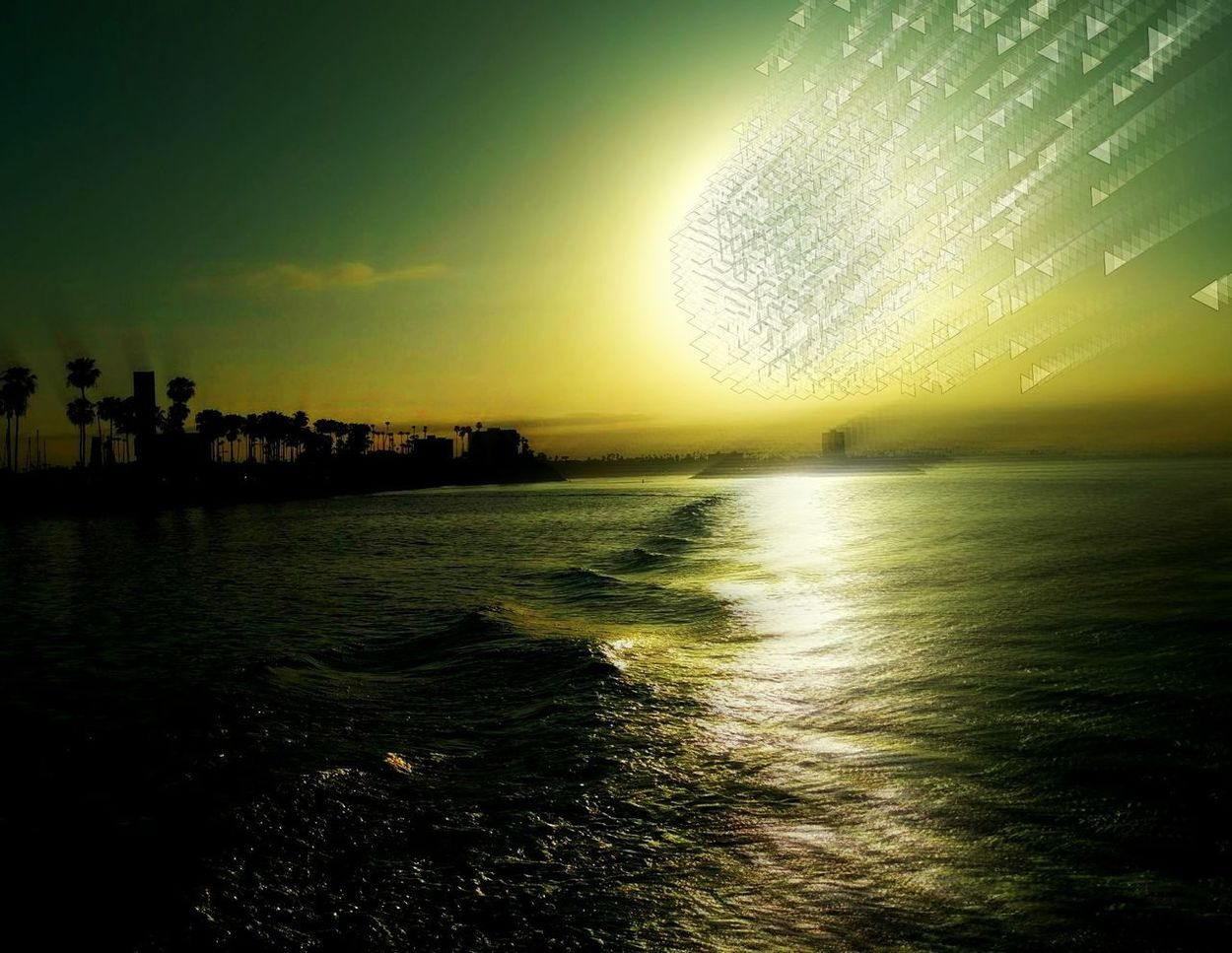 Water Sunset Sky Nature Sea Scenics Silhouette Beach Horizon Over Water Outdoors Truth Niburu Binary Stars Astroidsart Meteor Shower Preparation  Awakening Ascention Repentance