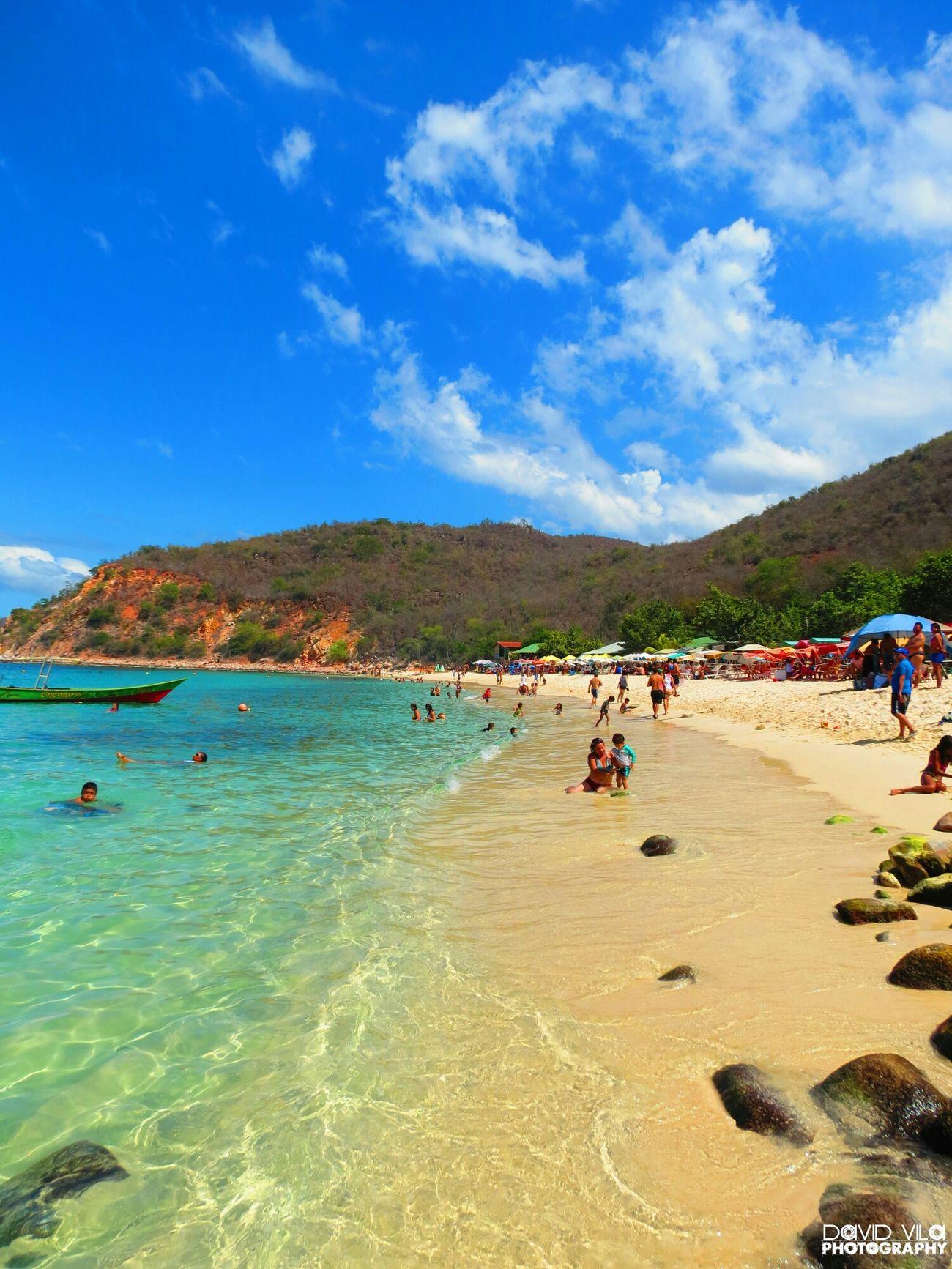 Bahia Mochima Playa Blanca Venezuela