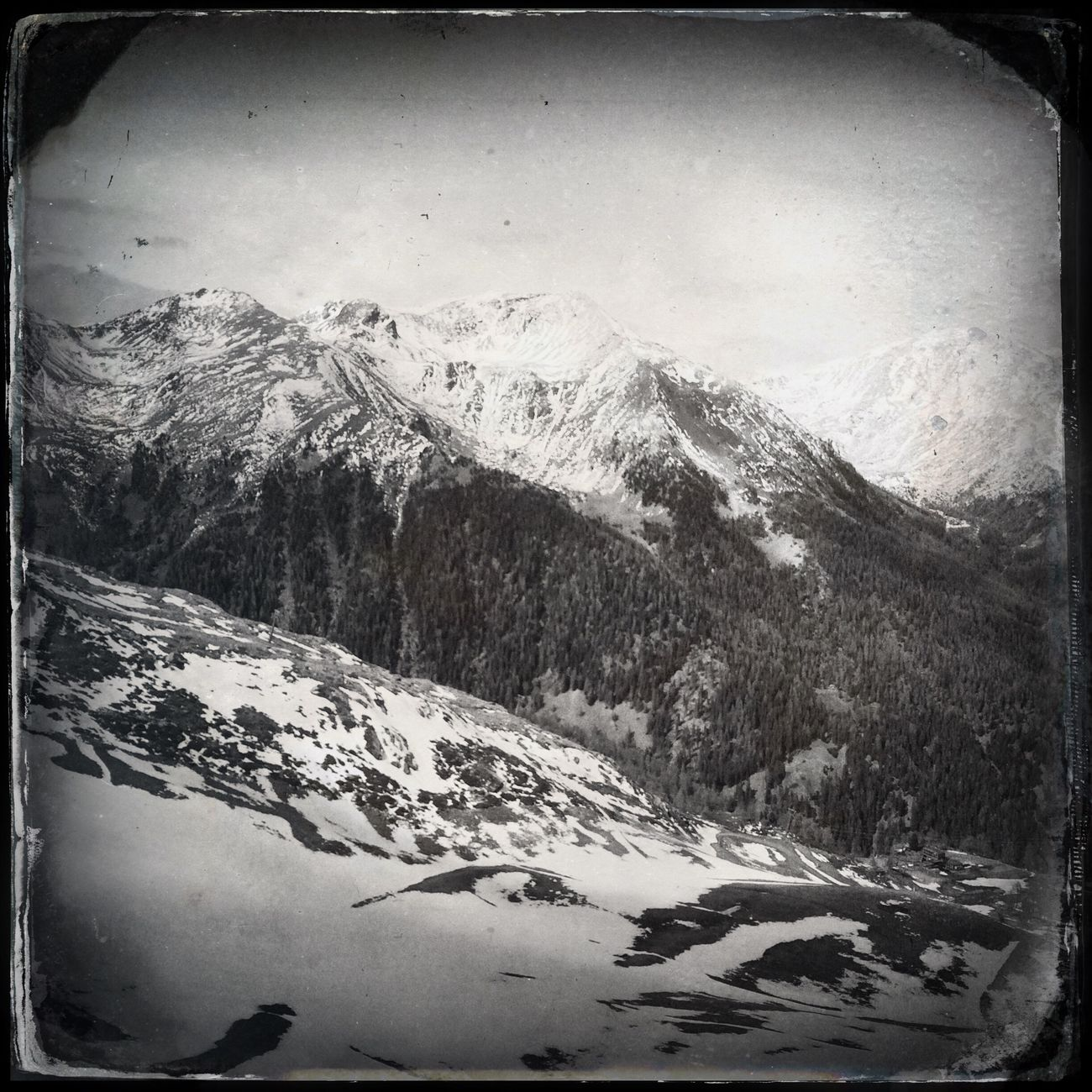 Mountains The_guido Hipstamatic Blackandwhite