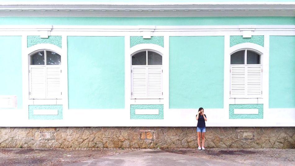 Holiday POV Green Macau Lomography Faces Of Summer Taipa House-museum Window Windows OpenEdit