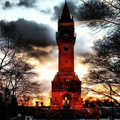 Sunsetporn Sun Tower Berlin Deutschland Germany Insta_germany Clouds Igs_world Igs_berlin Igs_europe Ig_berlin Insta_europe Igs_deutschland
