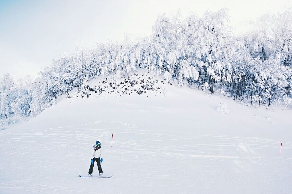 Snow Winter Cold Temperature Outdoors Peopleandplaces Travel Destinations Snow Sports Outdoors Life Check This Out People Watching Snowboarding One Person Mountain Range Adventure Club