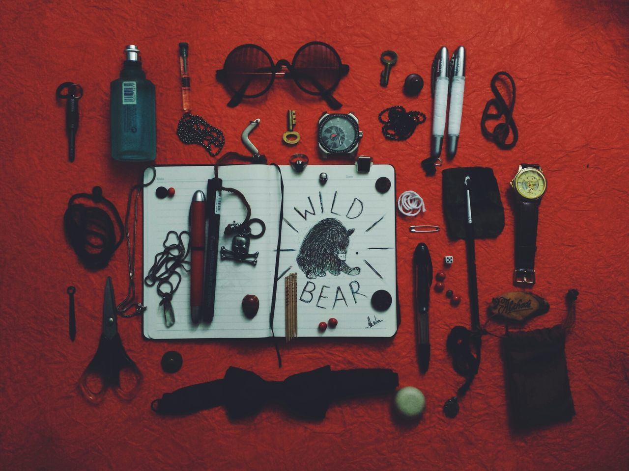 My Hobby Antique Accessories Drawing Art Orange Watches Moleskinesketchbook Penandpencils Eye4photography