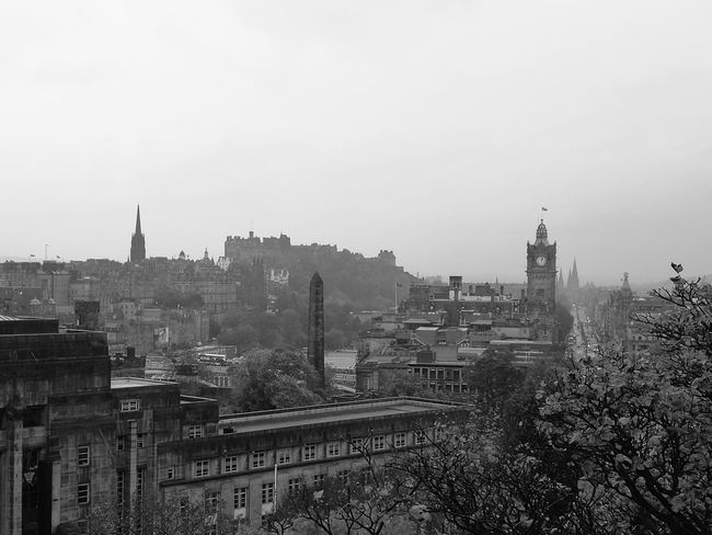 Edinburgh Urbanphotography Urban Blackandwhite Buildings Architecture Retro Blackandwhite Photography Calton Hill Urban Scenery Breathtaking City City Photography Scotland Monochrome Photography
