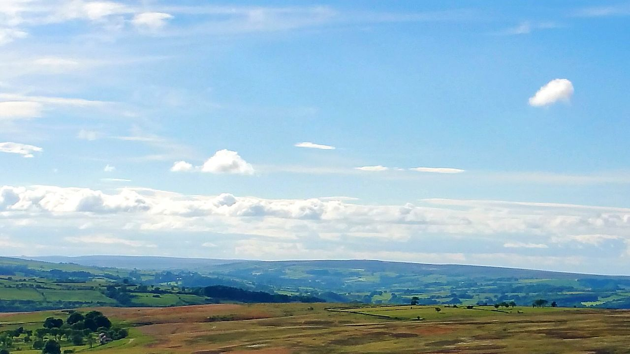 Landscape Cloud - Sky Outdoors Rural Scene Beauty In Nature Yorkshire Walking Around Yorkshire Dales
