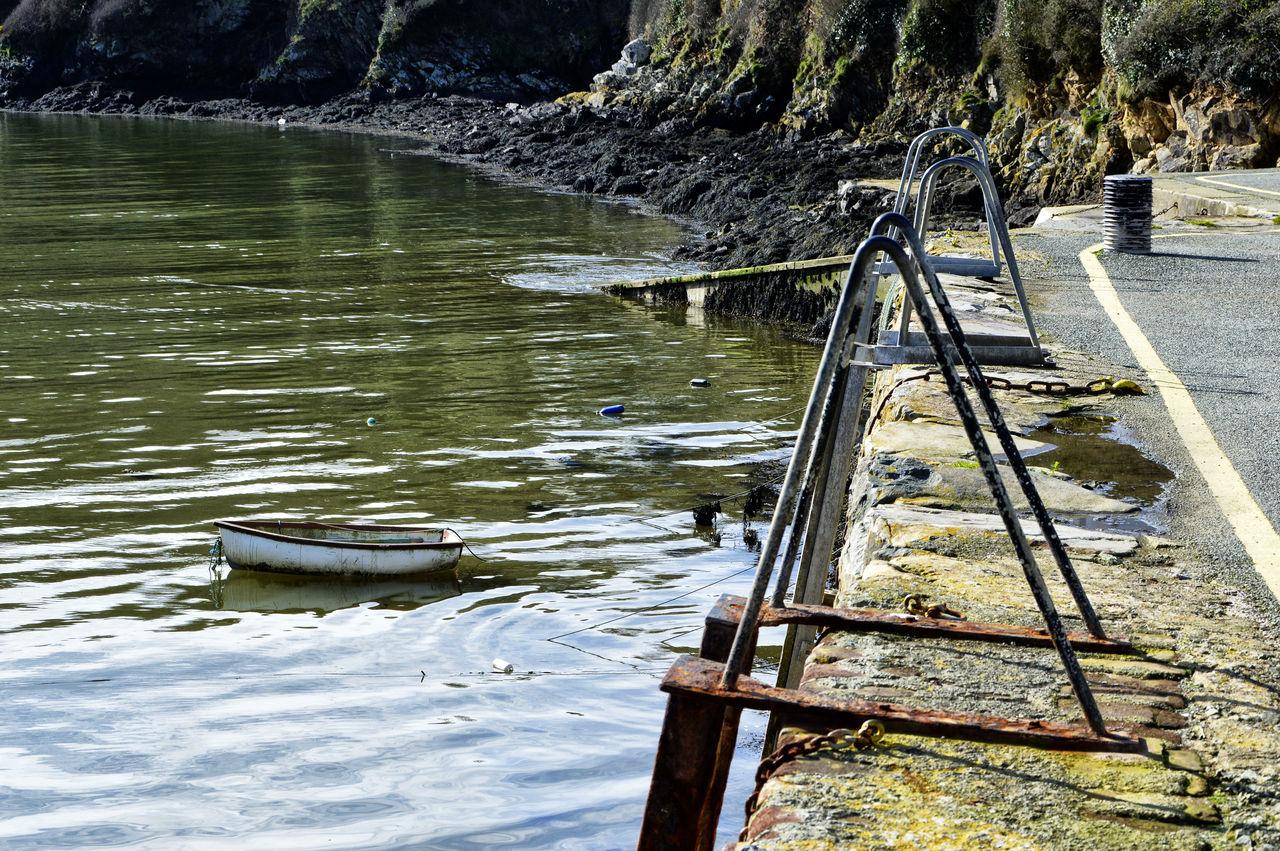 Boat Dockside Mooring Rowboat Slipways To Sea Steps Tender Water